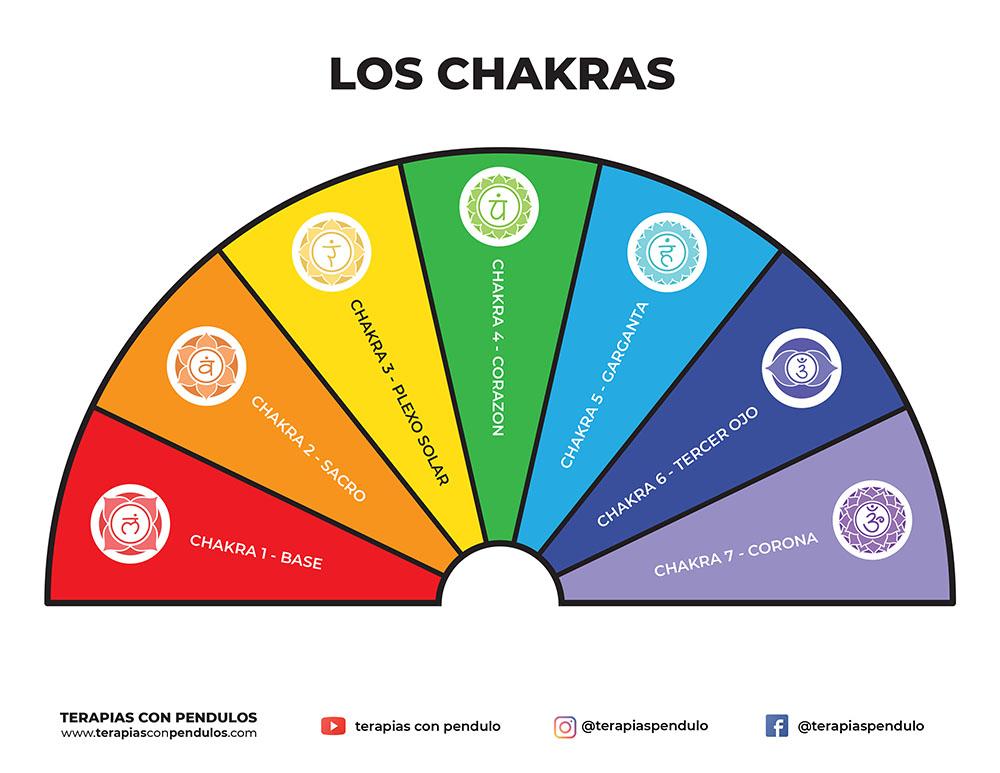 Los 7 Chakras - Peq